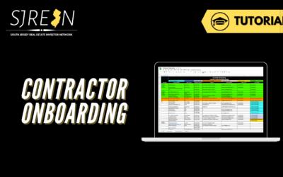 Contractor Onboarding