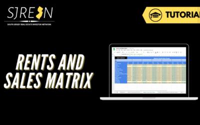 Rents and Sales Matrix